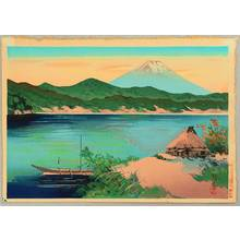 Unknown: Mt. Fuji From Lake Hakone - Artelino