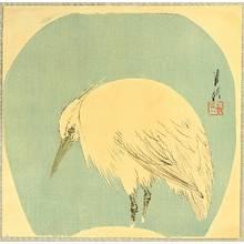 尾形月耕: Egret - Artelino