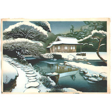 Ono Bakufu: Tea House in Snow - Artelino