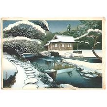Ono Bakufu: Tea House in Snow - Artelino