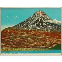 Kitaoka Fumio: Mt. Fuji in a Fine Day - Artelino