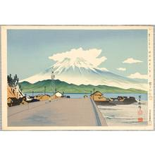 Tokuriki Tomikichiro: Mt. Fuji from a Road - Thirty-six Views of Mt.Fuji - Artelino