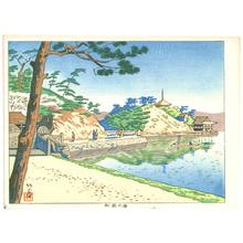 Fujishima Takeji: Six Views of Wakayama - Wakanoura Bay - Artelino