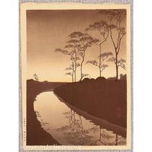 Koho: Canal under the Moonlight - Sepia Version - Artelino