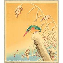 小原古邨: Kingfisher - Artelino