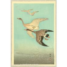 小原古邨: Flock of Geese - Artelino
