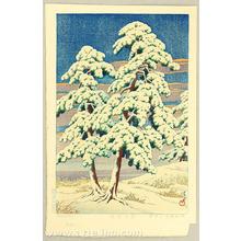 Kawase Hasui: Pine Trees After Snow - Artelino