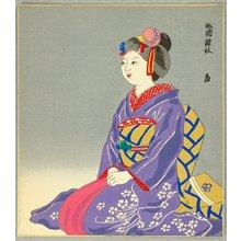 Tokuriki Tomikichiro: Dancer at Gion - Kyoto Twelve Months - Artelino