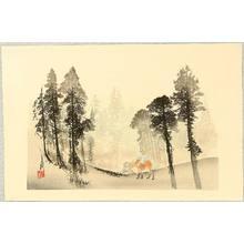 Ogata Gekko: One Hundred Fuji - In the Forest - Artelino