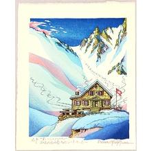 両角修: Cabane-du-Mont-Fort - Switzerland - Artelino