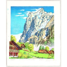 両角修: Near Grindelwald Village - Switzerland - Artelino