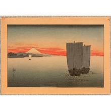 Koho: Sailboats in Sunset - Artelino