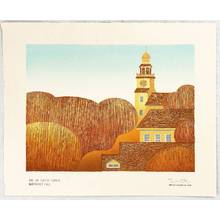 Tom Kristensen: The Unitarian Church - Nantucket Fall - Artelino