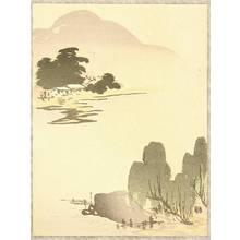 Yamamoto Shunkyo: Spring Landscape - Artelino