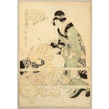 Kitagawa Utamaro: Embroidery - Artelino
