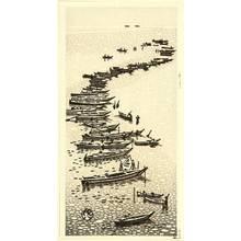 Okuyama Gihachiro: Fishing Boats - Artelino