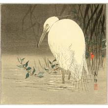 Takahashi Biho: Egret - Artelino