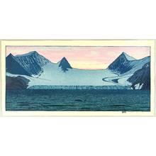 Yoshida Toshi: Hope Bay - Glacier and Orca - Artelino