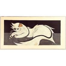Sekino Junichiro: White Cat - Artelino