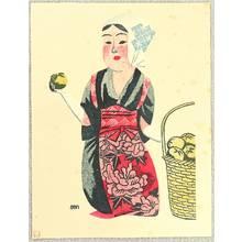 前川千帆: Girl from the Field - Orange - Artelino