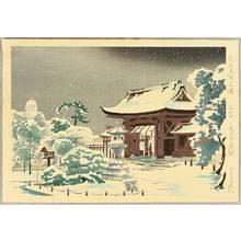 Tokuriki Tomikichiro: Minatogawa Shrine - Famous, Sacred and Historical Places - Artelino