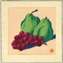前田政雄: Pears and Grapes - Artelino