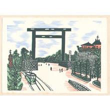 川上澄生: Tokyo Kaiko Zue - Artelino