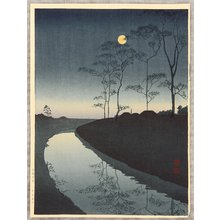古峰: Canal by the Moonlight - Artelino