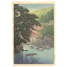 川瀬巴水: Yugashima in Ito - Artelino