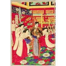 Toyohara Chikanobu: Political Meeting - Artelino