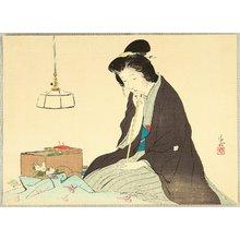 Kaburagi Kiyokata: Seamstress - Artelino