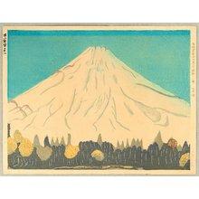 Koizumi Kishio: 36 Sacred Mt. Fuji - in Early Snow - Artelino
