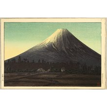 Takahashi Hiroaki: Mt. Fuji Seen from Tamaho - Artelino