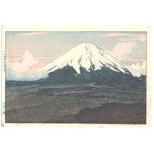 Yoshida Hiroshi: Mt.Fuji from Yamanaka - Artelino