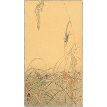 小原古邨: Grasshoppers - Artelino