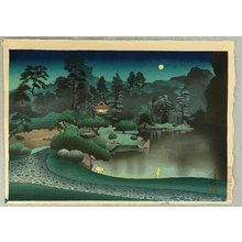 Ono Bakufu: Tea House in Moon Light - Artelino