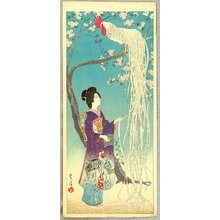 Kasamatsu Shiro: Long-tailed Rooster - Artelino