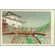 萩原秀雄: Hikone Castle in Early Summer - Artelino