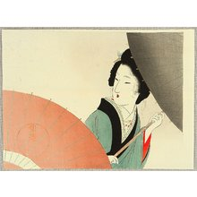 Tomioka Eisen: Beauty with Umbrellas - Artelino