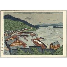 Fujishima Takeji: Shimotsui in the Inland Sea - Artelino