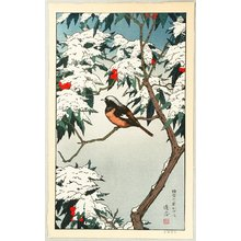 Yoshida Toshi: Birds of the Seasons - Winter - Artelino