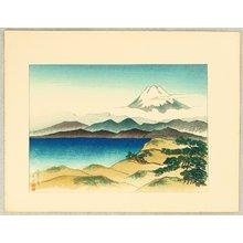 Yamagishi Kazue: Mt. Fuji from Tujido - Artelino