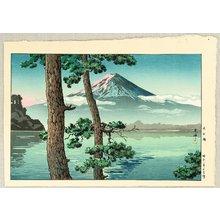 Tsuchiya Koitsu: Mt. Fuji from Lake Kawaguchi - Artelino
