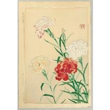 Kawarazaki Shodo: Carnations - Artelino