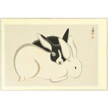 Imoto Tekiho: Two Rabbits - Artelino