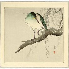 Ohara Koson: Night Heron - Artelino