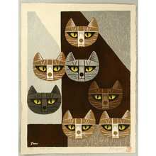 Inagaki Tomoo: Cats Face - 7 - Artelino