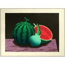 Hayashi Waichi: Watermelon and Onion - Artelino