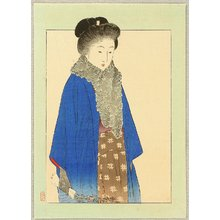 Takeuchi Keishu: Lady with Fur - Artelino