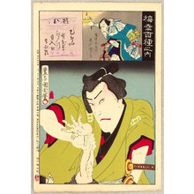 Toyohara Kunichika: Hundred Roles of Baiko - Gonpachi - Artelino